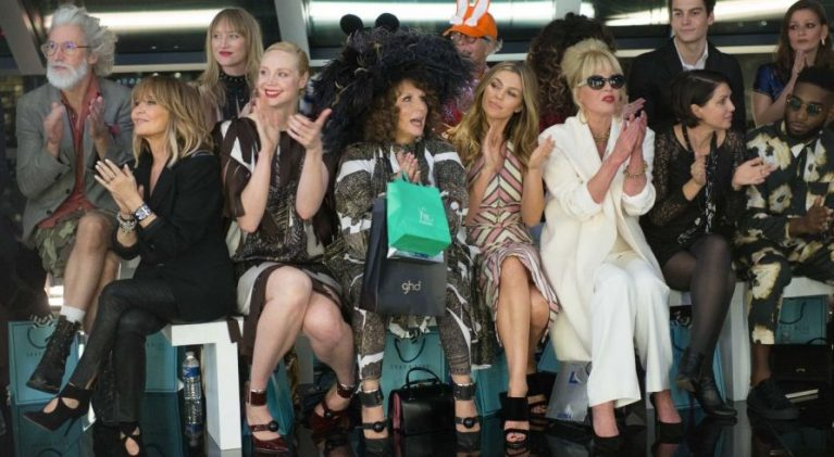 Question is, who isn't in 'Absolutely Fabulous: The Movie'?