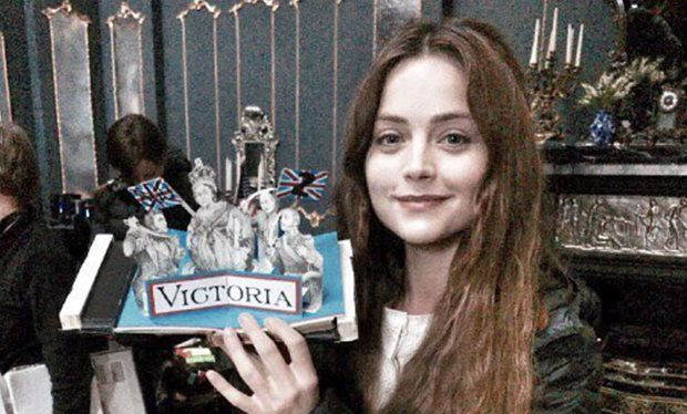 'That is a wrap' declares Jenna Coleman as filming ends on 'Victoria'