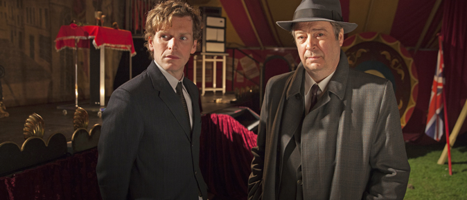 Shaun Evans returns as Endeavour Morse for four new episodes beginning June 19 on PBS