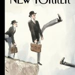"The New Yorker talks Brexit this week with Barry Blitt's ""Silly Walk Off a Cliff"""