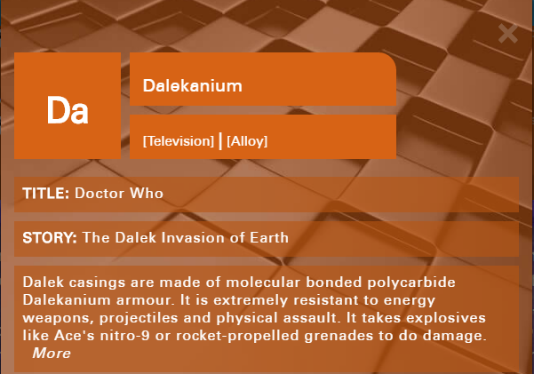 Its Official Science Is Definitely Cool With The Doctor Who