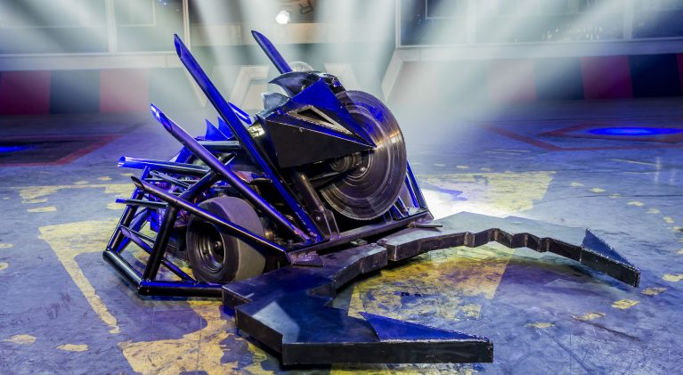 Programme Name: Robot Wars - TX: n/a - Episode: n/a (No. n/a) - Picture Shows: House Robot Dead Metal - (C) Mentorn Media Scotland - Photographer: Alan Peebles