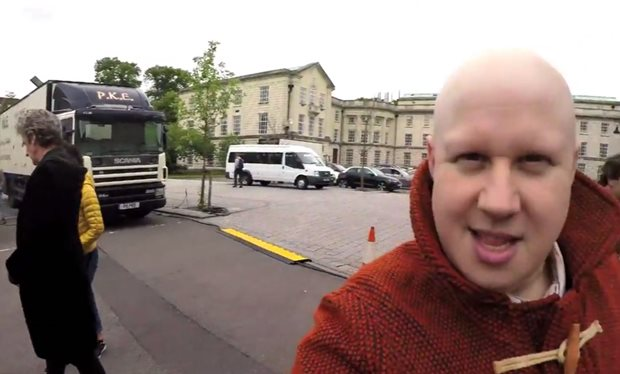 Matt Lucas takes us BTS on the set of 'Doctor Who' 10!