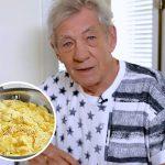 Chef Ian McKellen prepares 'the best scrambled eggs in the world'!