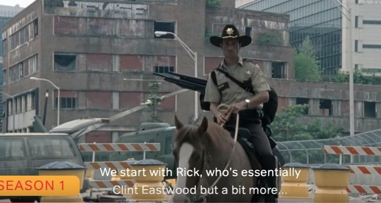 John Cleese's 4 minute recap of 6 years of 'The Walking Dead' gives you 83 hours of your life back