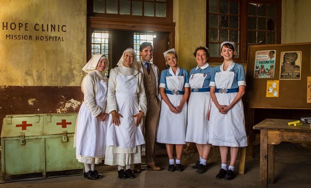 It's a 'Call the Midwife Christmas', once again, for the ladies of Nonnatus House