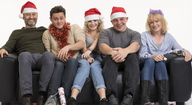 Step aside Parkers and Griswolds, it's a Brockman family Christmas this year on BBC 1