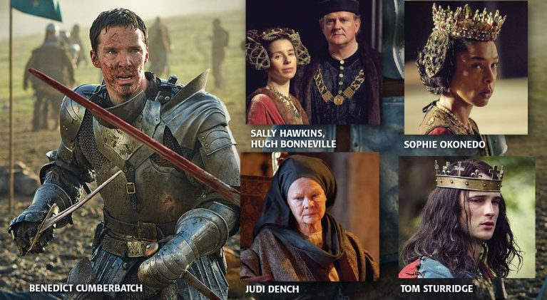 Benedict Cumberbatch trades his kingdom for a horse in Hollow Crown: The Wars of the Roses premieres tonight on PBS