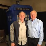 Sitting down with the Fifth Doctor, Peter Davison
