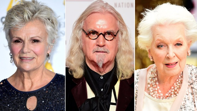 AbFab's June Whitfield tops 2017 list of The Queen's Birthday Honour