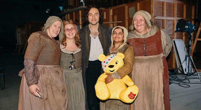 'Poldark' cast pulls out all the stops for 2017 Children in Need special