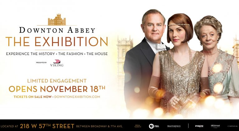 Downtown Abbey – The Exhibition heads to America!