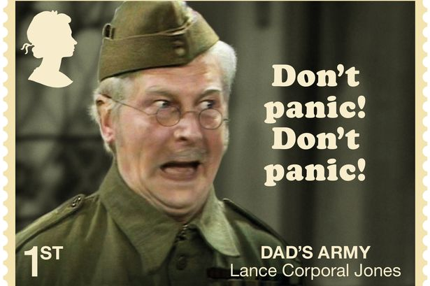 Don't Panic! Dad's Army to get 2018 Royal Mail stamps for 50th anniversary