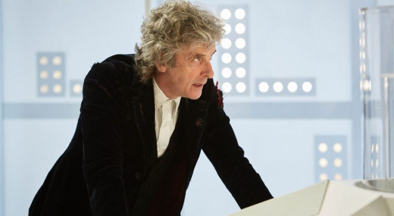 Peter Capaldi bids a tearful farewell to fans of 'Doctor Who'