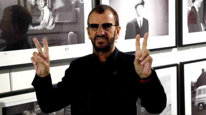 Ringo Starr receives knighthood during the Queen's 2018 New Years Honours