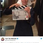Midwives get back on their bikes as 'Call the Midwife' S8 begins filming