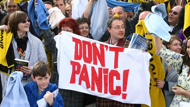 Don't Panic! National Towel Day 2018 is just around the corner!