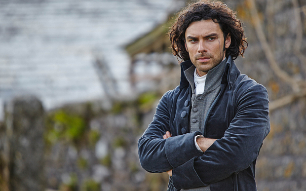Poldark's Aidan Turner headed to London's West End this Summer as 'cat-loving' terrorist