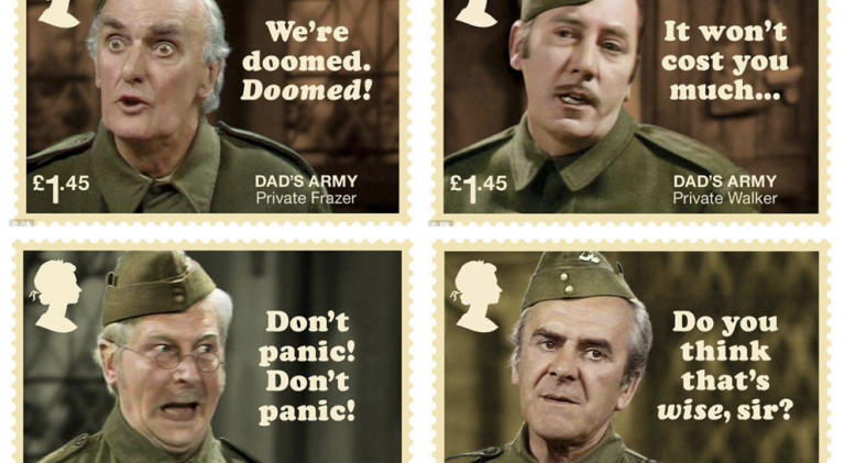 50th anniversary Dad's Army stamps become unlikely symbol of Brexit Britain