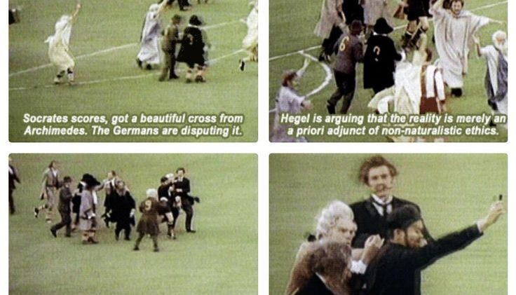 Monty Python looks back at Germany's last devastating football defeat