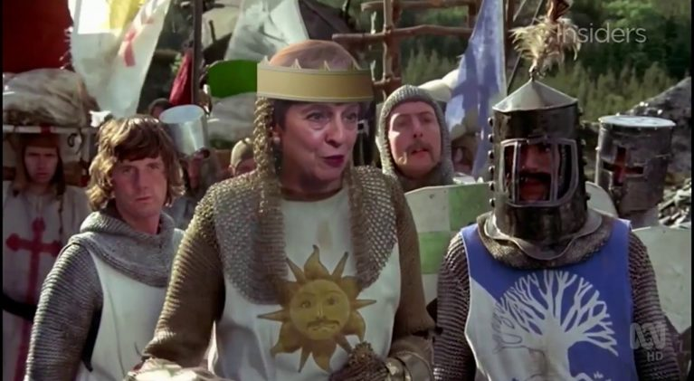 Theresa May and the Holy Grail, a.k.a. the right Brexit deal