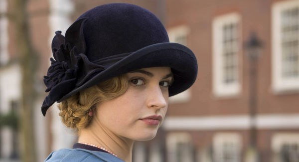 Lily James continues to strike 'post-Downton Abbey' gold with 'All About Eve'