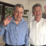Michael Palin visits 'unstoppable' friend, Terry Jones