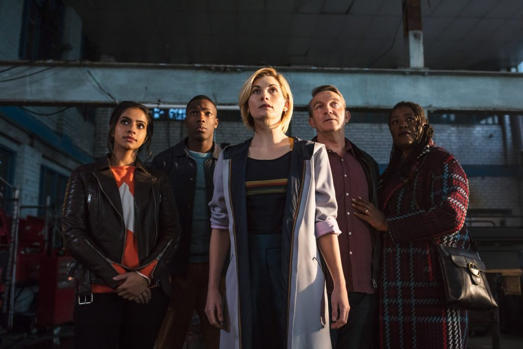 Jodi Whittaker as Doctor Who