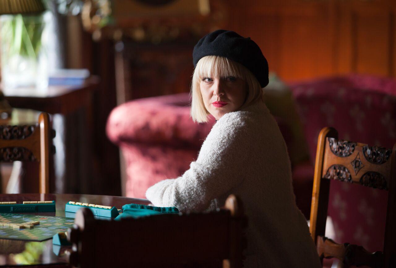 Ashley Jensen as Agatha Raisin / Acorn TV