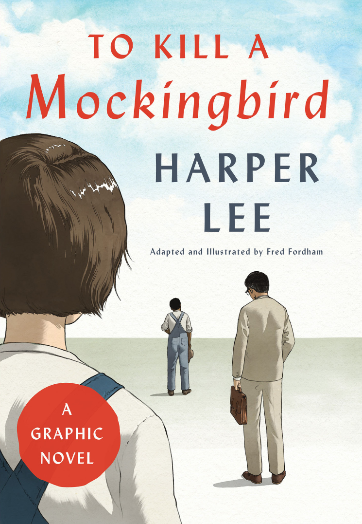 To Kill a Mockingbird graphic novel by Fred Fordham