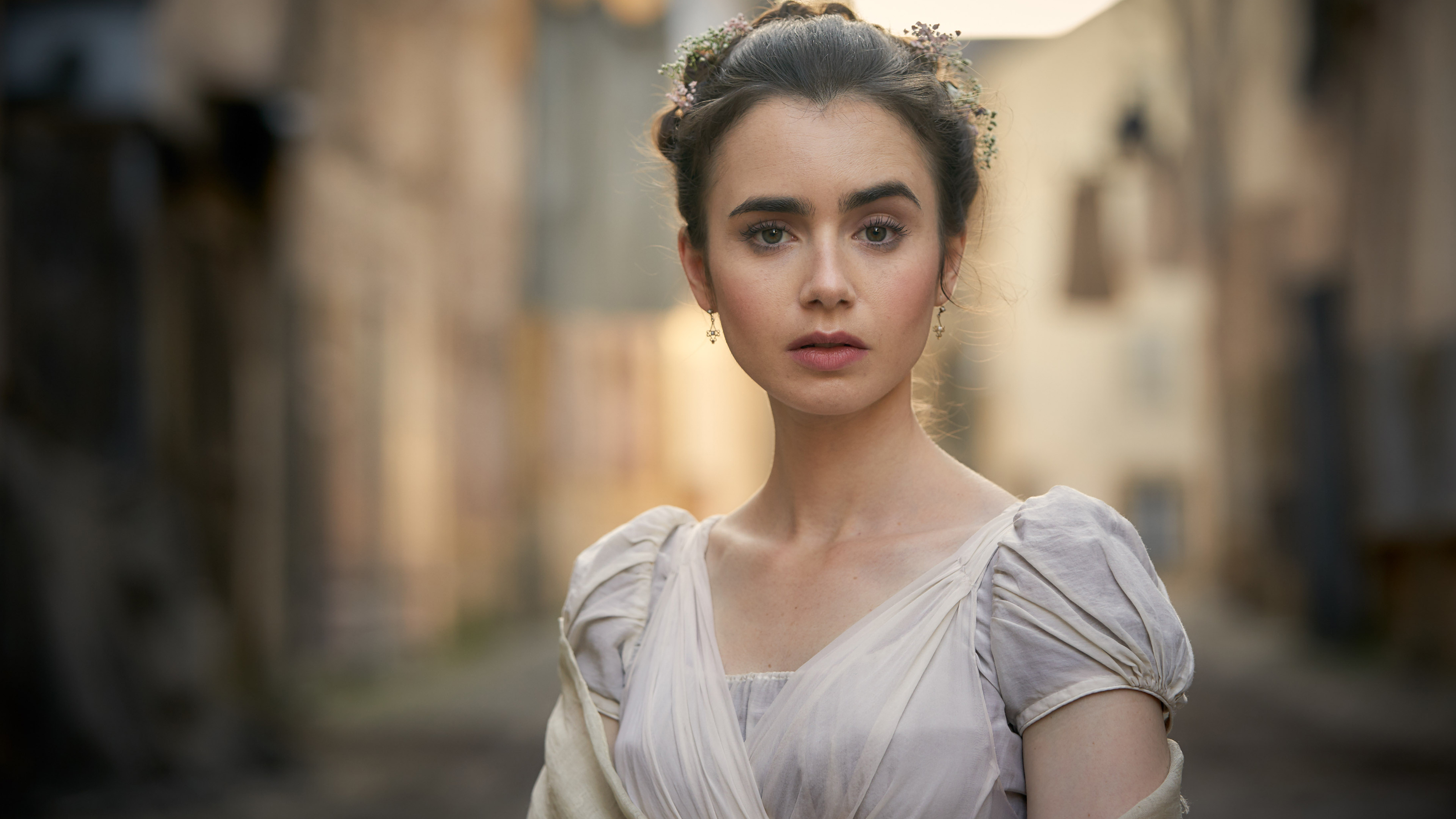 Lily Collins / Credit: BBC Masterpiece