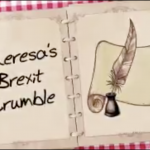 The Great British Bake Off unimpressed with Theresa's Brexit Crumble showstopper