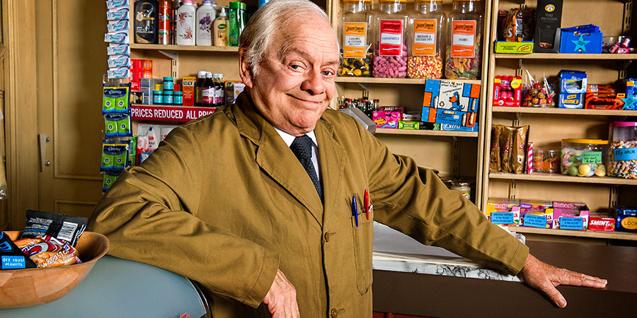 Sir David Jason and James Baxter in 'Still Open All Hours'