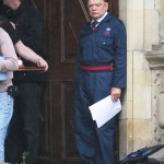 David Jason returns home to guard the Queen