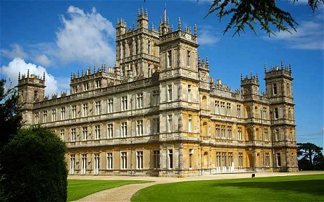 TV's Downton Abbey would be so proud
