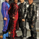 Red Dwarf S10 production bits and bobs