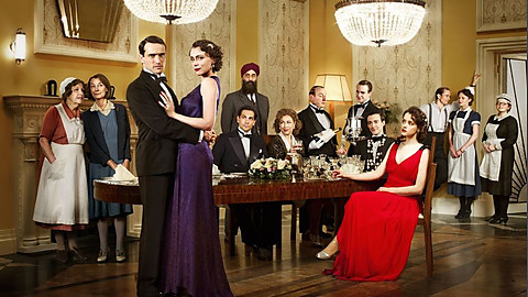 Cast of BBCs Upstairs Downstairs