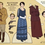 Printable Downton Abbey characters to combat separation anxiety