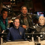 No middle-aged spread visible in 'official' Red Dwarf X photo