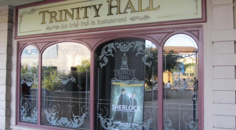 Kicking off 'Sherlock 2 week' at Trinity Hall