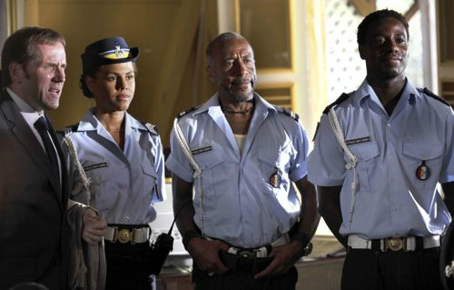 Post Red Dwarf it's Death in Paradise for the Cat