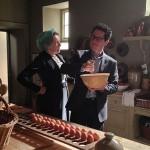 Star Trek's director visits Downton Abrams…sorry, Downton Abbey