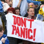 Don't Panic – only 364 days until Towel Day 2015!