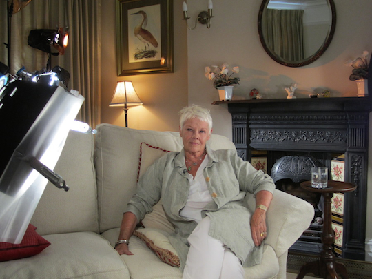 Dame Judi for PBS interview