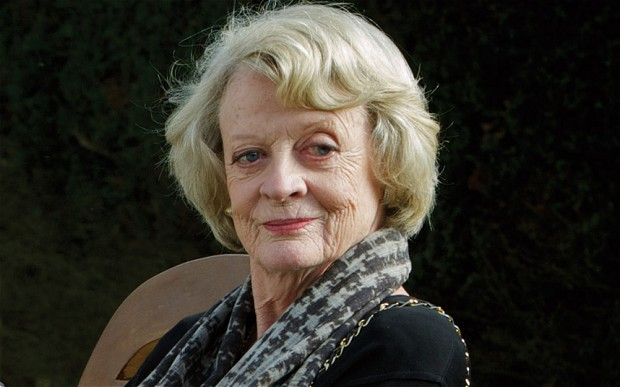 Dame Maggie Smith at 80