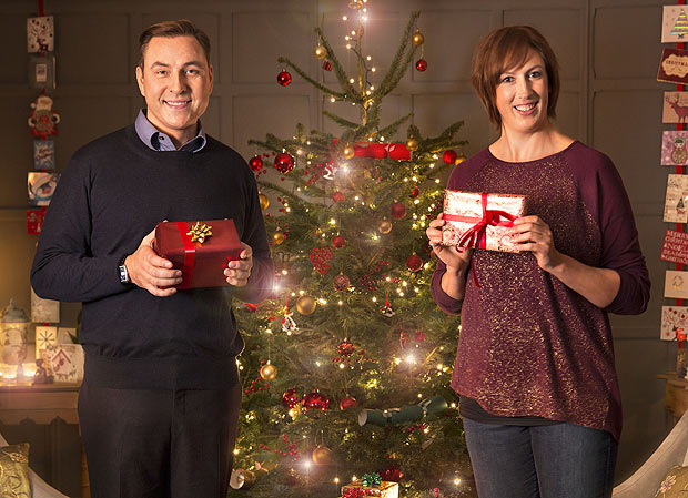 David Walliams and Miranda Hart - Christmas 2014