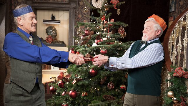 Freddie and Stuart get Vicious on Christmas on PBS