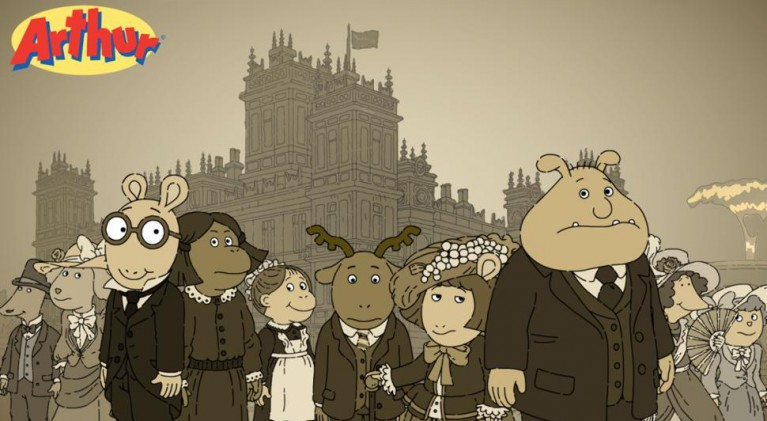 Arthur heads to Fountain Abbey
