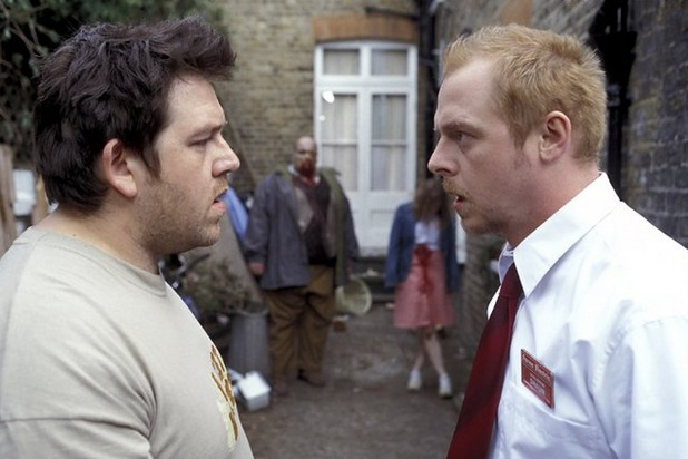 Shaun of the Dead with Simon Pegg and Nick Frost