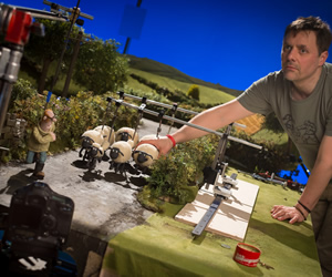Behind the scenes of Shaun the Sheep The Movie from Aardman Animation
